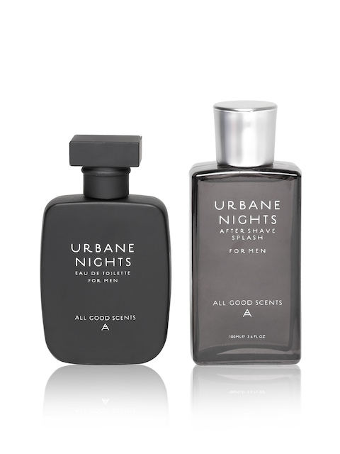ALL GOOD SCENTS Men Urbane Nights EDT & Aftershave Gift Set