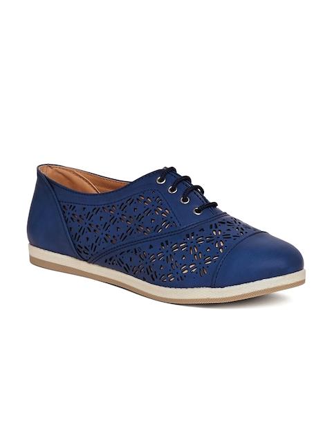 Marc Loire Women Blue Oxfords