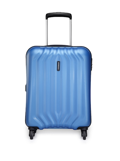 Aristocrat Unisex Blue Large Trolley Suitcase