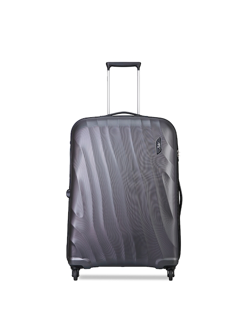 Skybags Unisex Grey Large Trolley Suitcase