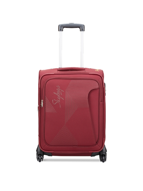 Skybags Unisex Red Small Trolley Bag