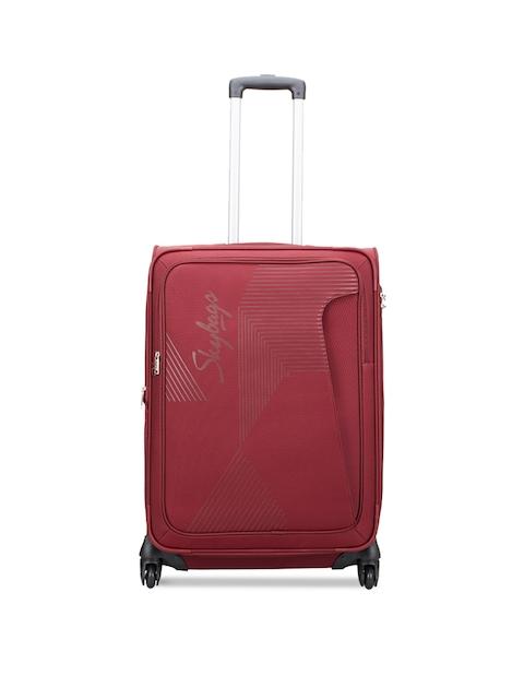 Skybags Unisex Red Medium Trolley Bag