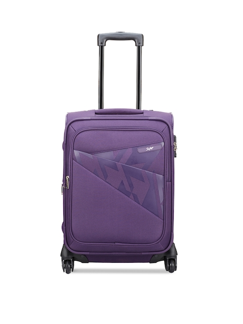 Skybags Unisex Purple Small Trolley Bag