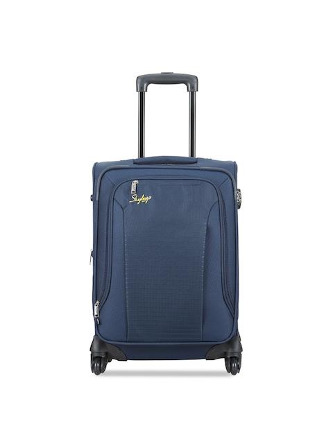 Skybags Unisex Blue Medium Trolley Bag