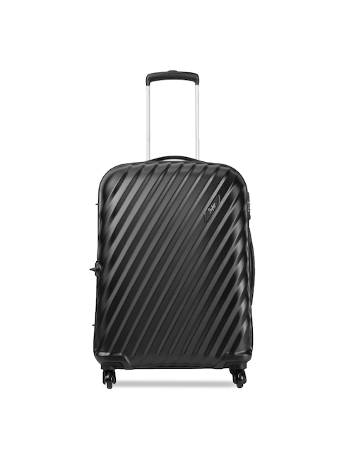 Skybags Unisex Black Large Trolley Suitcase