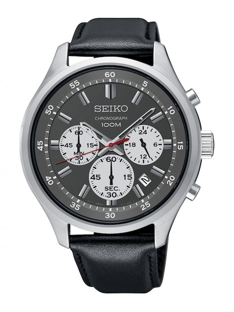 SEIKO Men Grey Analogue Watch SKS595P1