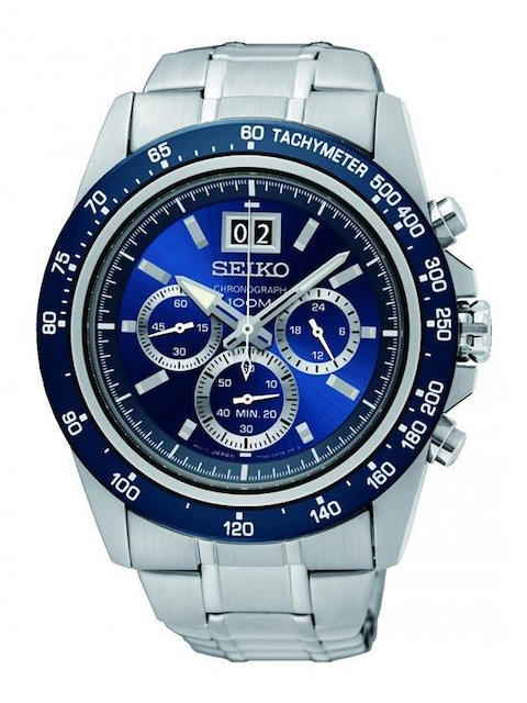 SEIKO Men Blue Analogue Watch SPC235P1