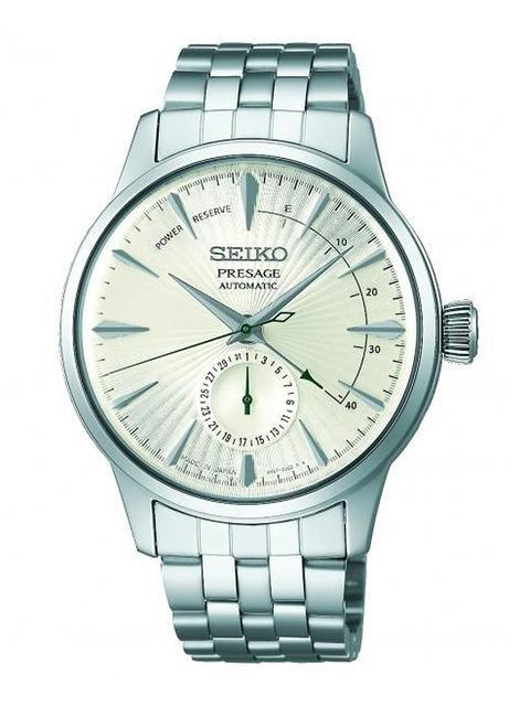 SEIKO Men White Analogue Watch SSA341J1