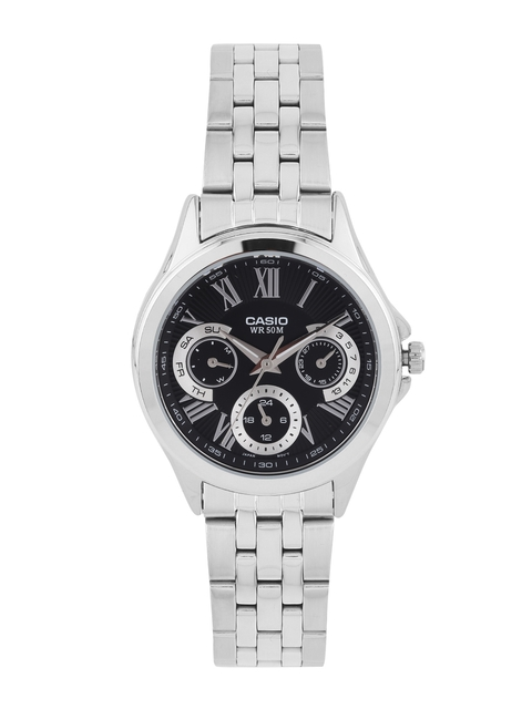 CASIO Enticer Women Black Multifunction Watch A1063
