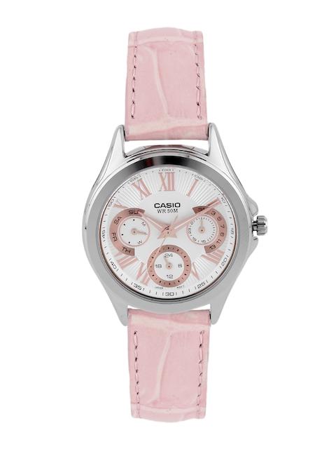 CASIO Enticer Women White Multifunction Watch A1066