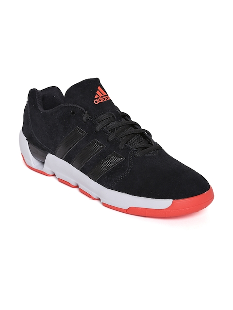 Adidas Men Black Daily Double 4 Low Basketball Shoes