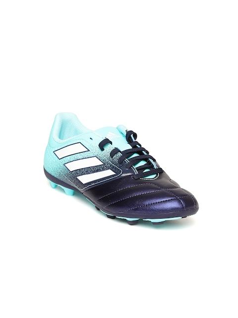Adidas Boys Blue Ace 17.4 FXG J Football Shoes