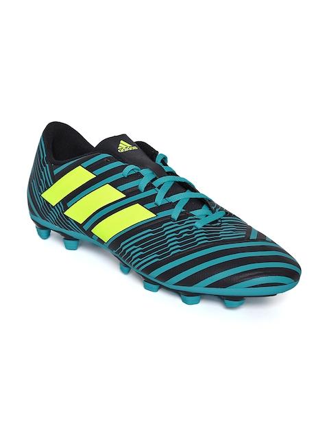 Adidas Men Blue NEMEZIZ 17.4 FXG Football Shoes