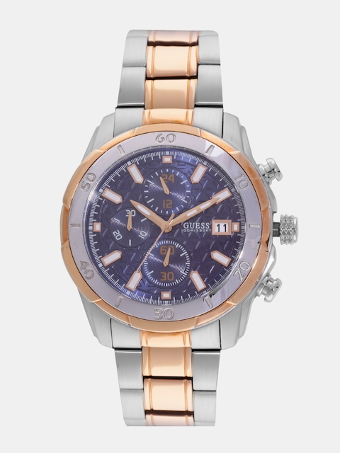 GUESS Men Blue Analogue Watch W0746G1_OR