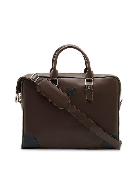 MBOSS Unisex Brown Messenger Bag