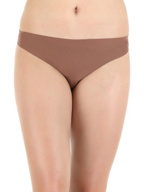 Zivame Brown Bikini Briefs ZINVPLBK020SKIN