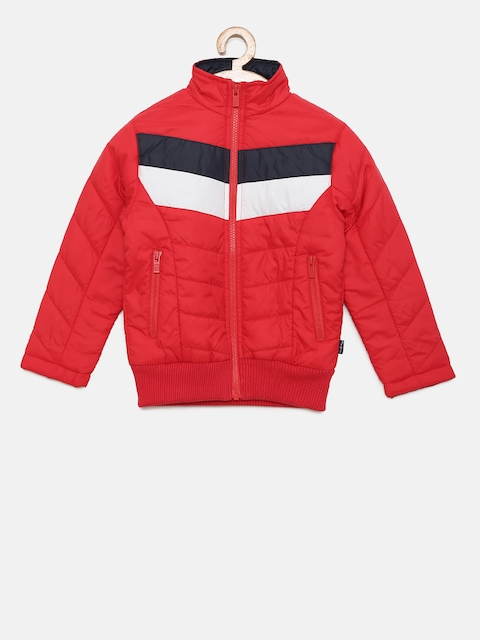 Pepe Jeans Boys Red Bomber Jacket