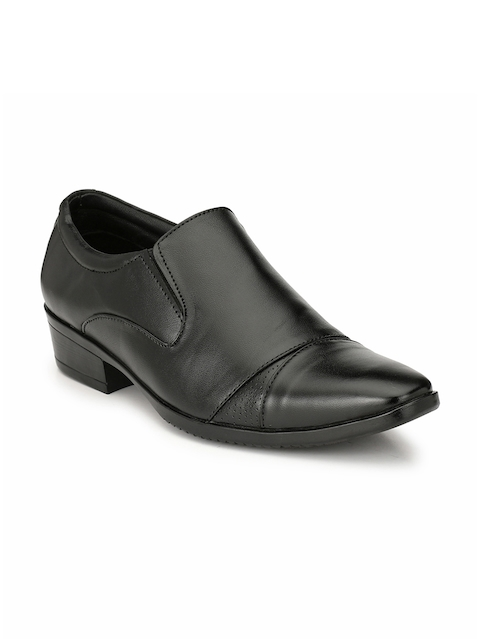 Prolific Men Black Semiformal Shoes