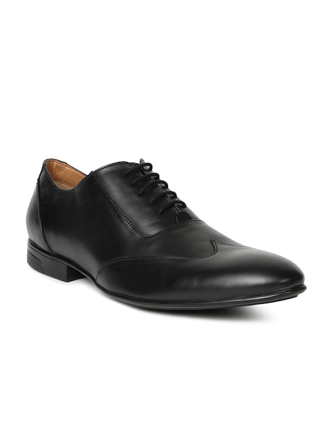 Alberto Torresi Men Black Oxfords