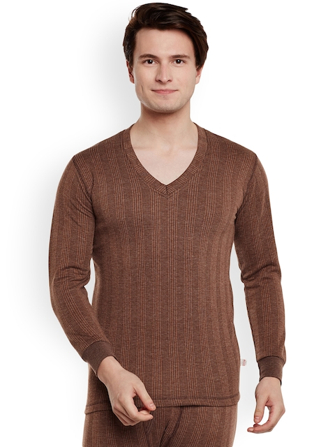 VIMAL Brown Thermal T-shirt