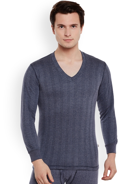 VIMAL Navy Blue Thermal T-shirt