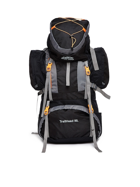 MOUNT TRACK Unisex Grey & Black Rucksack