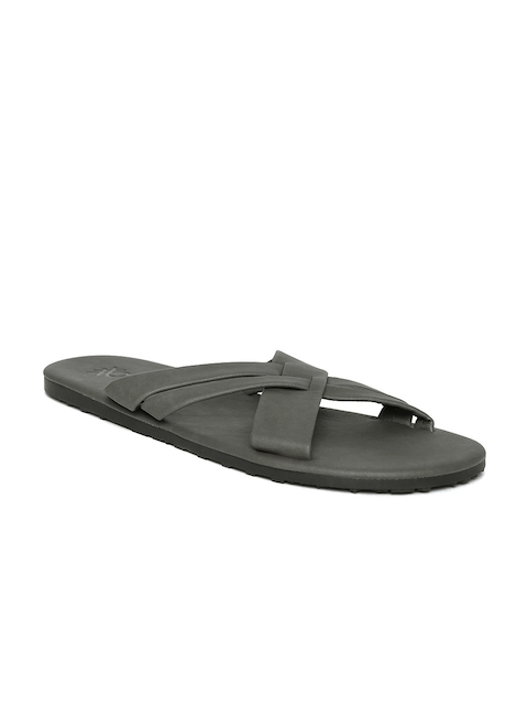 United Colors of Benetton Men Grey Sandals