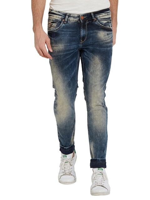SPYKAR Men Black Super Skinny Fit Low-Rise Clean Look Jeans