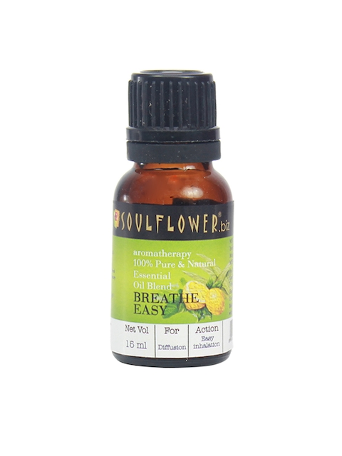 Soulflower Breathe Easy Essential Oil Blend
