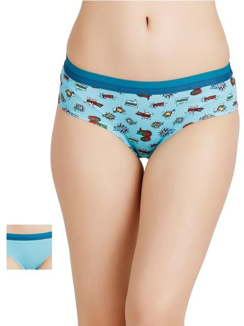Zivame Pack of 2 Bikini Briefs ZI00Z211S3HERLB
