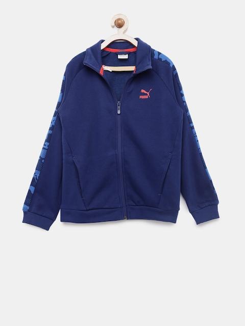 Puma Boys Blue Justice League Jacket