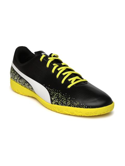 Puma Men Black Printed Badminton Shoes