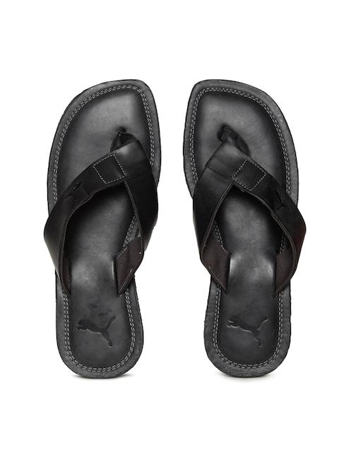Puma Men Black Paramount Flip-Flops