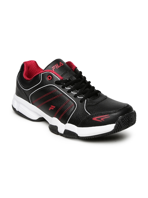 FILA Men Black SET 6 Tennis Shoes