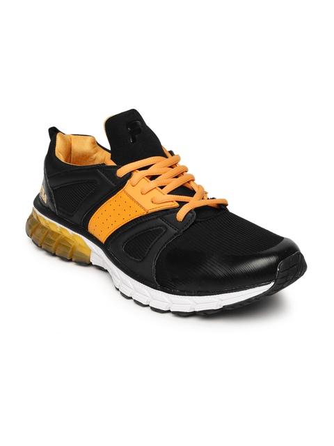 FILA Men Black & Orange CARTELLO Running Shoes