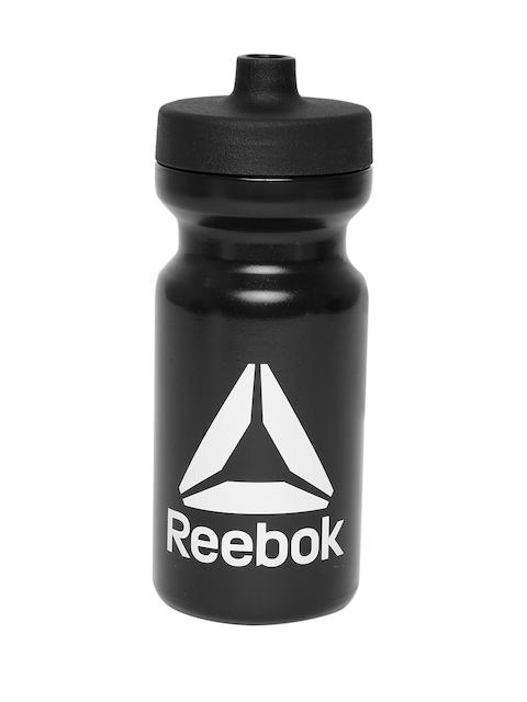 Reebok Unisex Black Printed Found Training Water Bottle