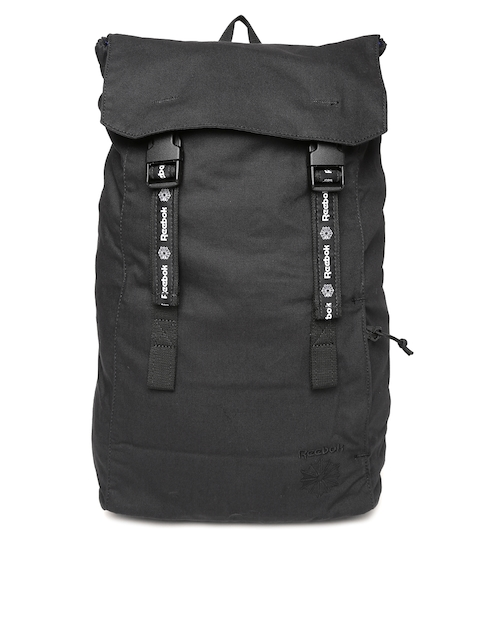 Reebok Classic Unisex Black Solid Backpack