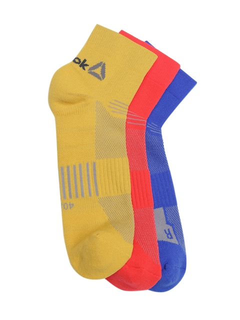 Reebok Men Pack of 3 OS Above Ankle-Length Socks