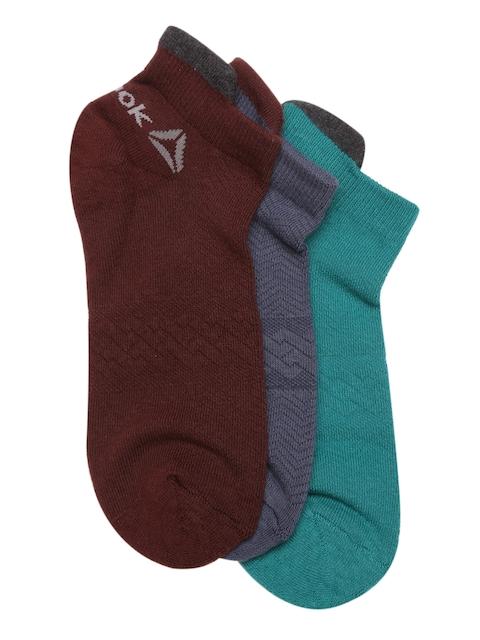 Reebok Men Pack of 3 Ankle-Length Socks