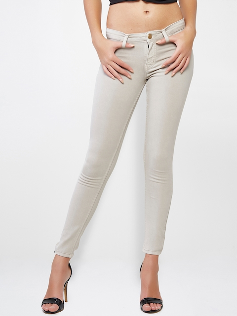 AND Beige Jeggings