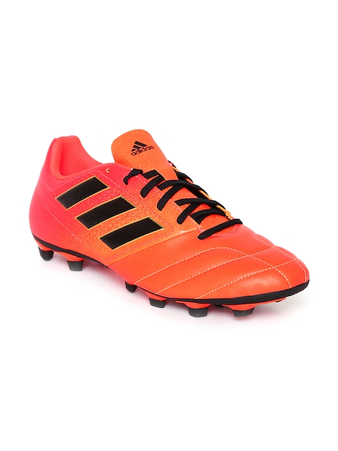 ADIDAS Men Orange ACE 17.4 FXG Football Shoes