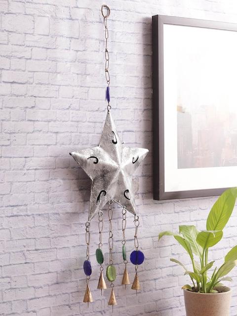 VarEesha Silver-Toned Star Wall Hanging