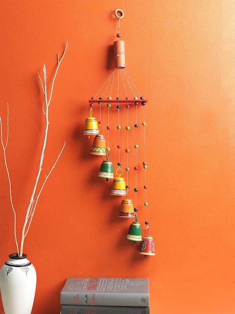 VarEesha Multicoloured Seven Metal Bells Wind Chime