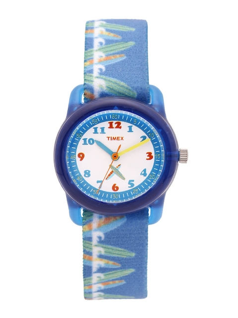 Timex Kids Off-White Analogue Watch TWESK0106