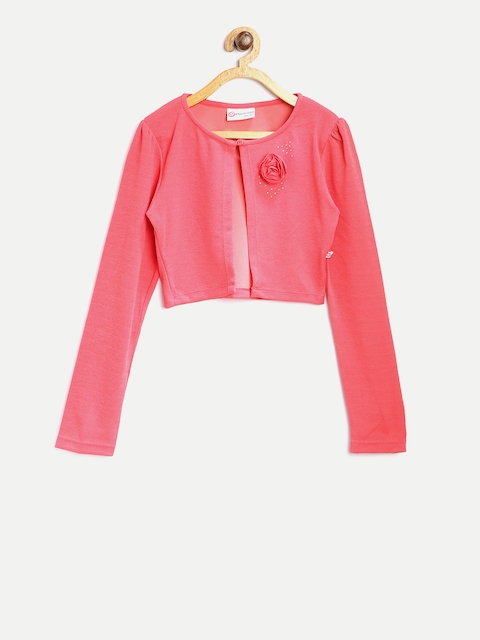 Peppermint Girls Coral Pink Shrug