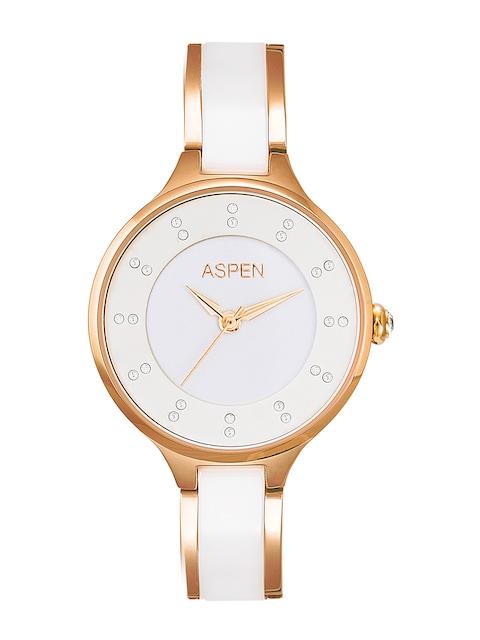 ASPEN Women White Analogue Watch AP1995