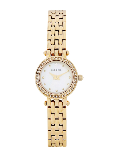 Dsigner Women White Analogue Watch 674GM