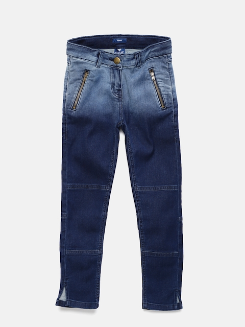 Fame Forever by Lifestyle Girls Blue Skinny Fit Mid-Rise Clean Look Stretchable Jeans