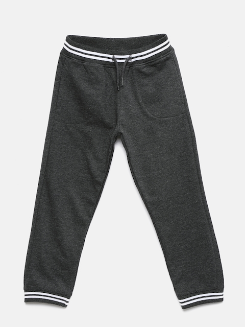 Juniors by Lifestyle Girls Charcoal Grey Track Pants