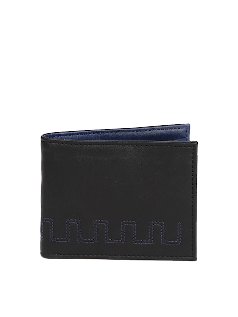 Baggit Men Black Solid Wallet